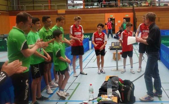 Mannschaftsmeisterschaften U15